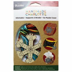Набір для вишивання Wood Stitchable Shapes SNOWFLAKE, Bucilla, 86500