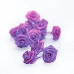 Букет троянд Ribbon Rose Lavender, 12 шт, B1154LV