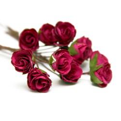 Букет троянд Open Rose Fuchsia, 12 шт, BRB1495FU
