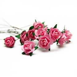 Букет троянд Open Rose Pink, 12 шт, BRB1495PK