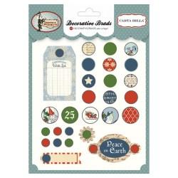 Брадси Christmas Wonderland, Carta Bella, CBCW46019
