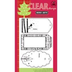 Штампи Christmas Tags, Hero Arts, CL554