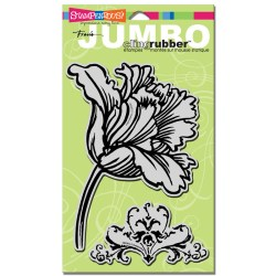 Штамп гумовий Jumbo Tulip, Stampendous, CRS5012
