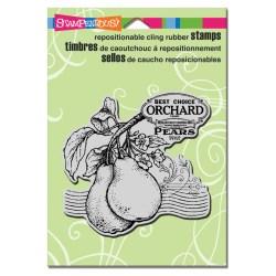 Штамп гумовий Pear Blossom, Stampendous, CRW084