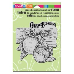 Штамп гумовий Orange Blossom, Stampendous, CRW086