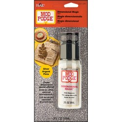 Mod Podge  Dimensional Magic – Glitter Silver, 59 мл, CS11291