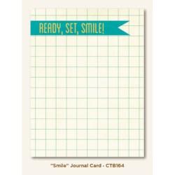 Картка для журналінгу Smile (Collectable), My Mind's Eye, CTB164
