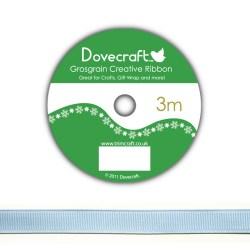 Рулон стрічки Dovecraft Christmas Ribbon, репсова, 3м, DCCR005