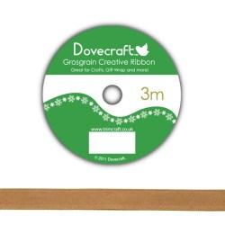 Рулон стрічки Dovecraft Christmas Ribbon, сатин, 3м, DCCR009