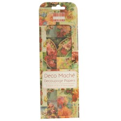 Папір для декупажу Deco Maché – Vintage Roses, First Edition, FEDEC002
