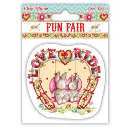 Штампи Fun Fair – Love Ride, Helz Cuppleditch, HCCS025