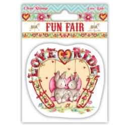 Штампи Fun Fair – Love Ride, Helz Cuppleditch, HCCS025