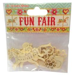 Дерев'яні прикраси Fun Fair, Helz Cuppleditch, HCWC002