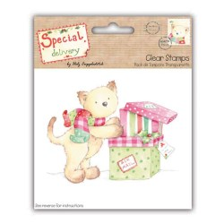Штампи Special Delivery by Helz Cuppleditch Stamps – Prrrresents, HCXCS11