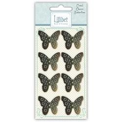 Металеві прикраси Charms – Butterfly, Lillibet, Hallmark Cards, HMMC001