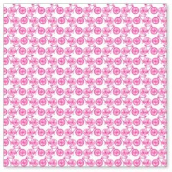 Оверлей Mini Bicycles 30×30 Pink Overlay, HO688