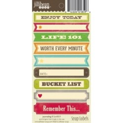 Лейби Journaling II Soup Labels, Jillibean Soup, JBE8859
