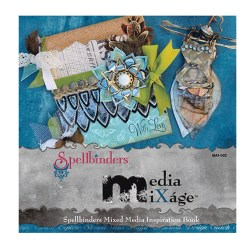 Брошура Spellbinders Mixed Media Inspiration Book, MA1-002