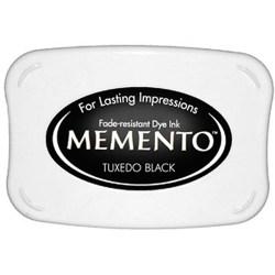 Чорнило для штампування Memento Tuxedo Black, Tsukineko, ME-900