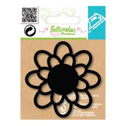Тканинна прикраса Feltables Embellishments Silhouettes Flower, NI49782
