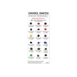 Міні палітра акварелі Extra Fine Watercolor Hero arts Pallette, Daniele, Smith, PD102