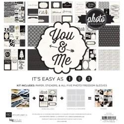 Набір паперу та файлів Photo Freedom You & Me, 30х30 см, Echo Park, PFYM8008