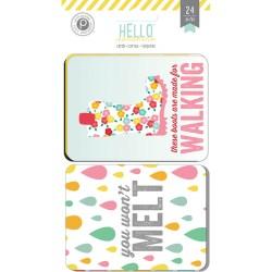 Картки для журналінгу Hello Sunshine, Pink Paislee, PP01246