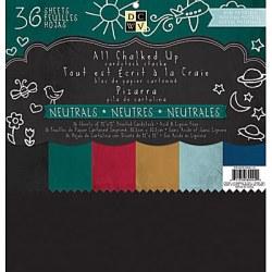 Набір паперу CHALK NEUTRAL, 30х30 см, 36 аркушів, PS-005-00210