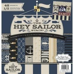 Набір паперу Hey Sailor, 30х30 см, DCWV, PS-005-00361