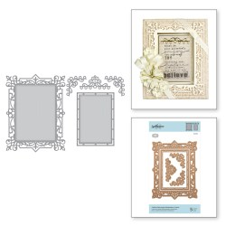 Ножі Callista Rectangle Shadowbox Frame, Spellbinders, S5-389