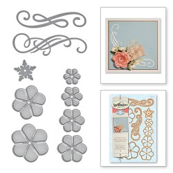 Ножі Cinch And Go Flowers, Spellbinders, S6-050