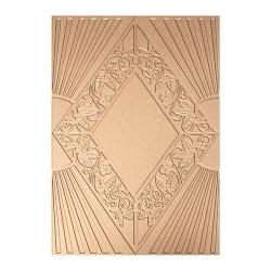 Пластина для текстурування Art Deco Sanctuary, Spellbinders, S6-074