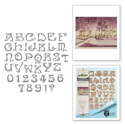Ножі Art Nouveau Font, Spellbinders, S6-101