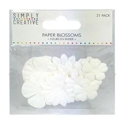 Набір квітів White, Simply Creative, SCFLW003