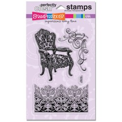 Штампи акрилові Damask Chair, Stampendous, SSC1120