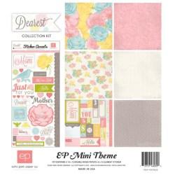 Набір паперу Dearest Mini Theme, 30х30 см, Echo Park, SW1805