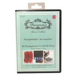 Фотополімерні заготовки для штампів Teresa Collins Stampmaker, A7, 10шт, TCSM003