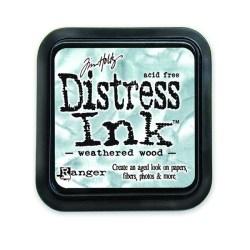 Штемпельна подушечка Distress Weathered Wood, Ranger, TIM20257