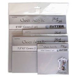 Обкладинки для створення альбомів – Bind-It-All прозорі, 10×10, Zutter, ZT2790