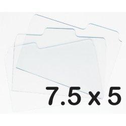 Прозорі акрилові вкладки для альбомів 19 х 12.7 см, Zutter, ZT2794