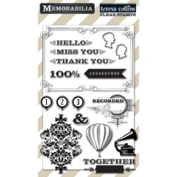 Штампи Memorabilia, Teresa Collins, MB1014