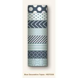 Паперовий скотч Blue Decorative Tape, My Mind's Eye, MDT005