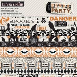 Набір паперу Masquerade Party, 15х15 см, Teresa Collins, MP1010