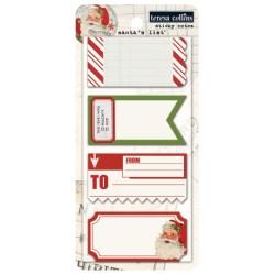 Клейкі папірці Santa's List Sticky Notes, Teresa Collins, SL1023