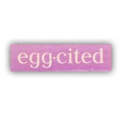Гумовий штамп Egg-sited, Hampton Art, VW0061-19