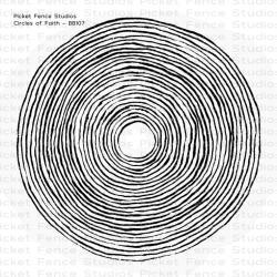 Штампи акрилові Circles of Faith, Picket Fence, BB107