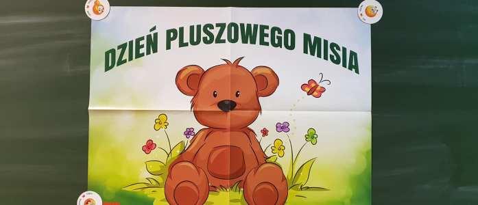 Światowy Dzień Pluszowego Misia w Oddziale Przedszkolnym Ob