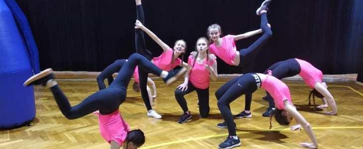Igrzyska Młodzieży Szkolnej w aerobiku grupowym