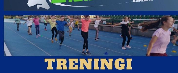 Treningi lekkoatletyczne dla dzieci w wieku 7- 14 lat
