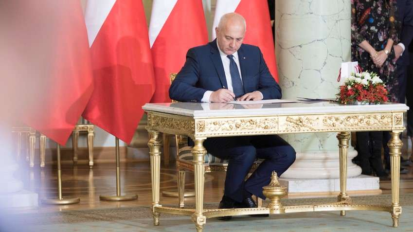 Absolwent ZSM – Joachim Brudziński – Ministrem MSWiA